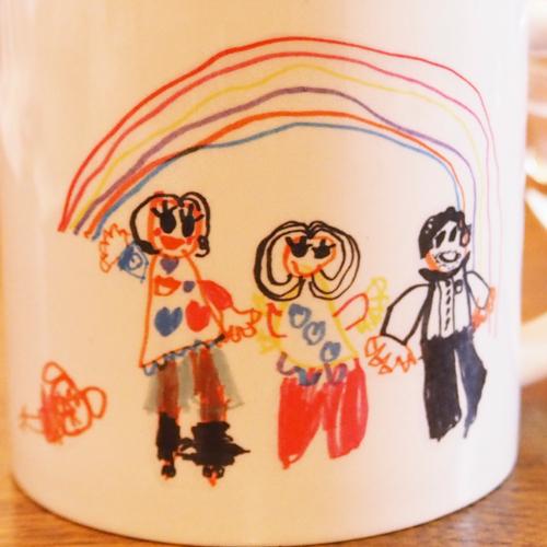 オリジナルマグカップ印刷部分