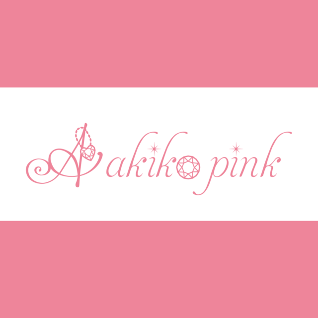 デザインレポート Akiko pink様 〜ロゴマーク、アクセサリー台紙〜